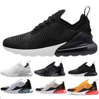 super popular 0738c 2ce97 2018 Nike air max airmax 270 air270 Hommes Femmes daim rétro Gazelle  chaussures Racer Noir et blanc chaussures Rouge Gris Orange Léger Respirant  Respirant ...