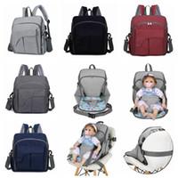 Wholesale light diaper bag for sale - Group buy USB Diaper Bag Colors Maternity Travel Backpack Designer Baby Care Stroller Handbag Baby Seat Nursing Bag OOA5931