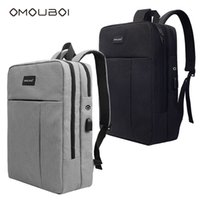 Wholesale usb baseball - Waterproof Lightweight School Backpack Fashion Style Durable School Bag With USB Charging Port Fits 15.6 Inch Laptop Computer By OMOUBOI