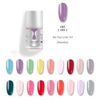 краски оптовых-LXINAYON Nail Art Wholesale High Quality Soak Off 30 Colors Gel UV Gel Paint Design Color Lacquer Nail Polish Top Coat Base Coat