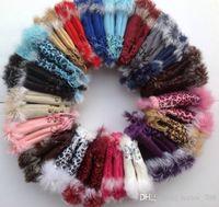 Wholesale Fingerless Half Gloves - Hot 2017 rabbit fur gloves,lady's winter fingerless gloves,hand wrist glove,half-fingers gloves 1120