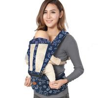 envoltório infantil venda por atacado-Mochilas portadores de cinto de bebê respirável infantil mochila portadores de bebê mochila sling confortável infantil pouch pouch