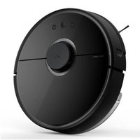 Wholesale Roborock S5 Xiaomi Robotic Vacuum and Mop Cleaner Pa Super Power Suction Wi Fi Connectivity and Smart Navigating Robot Vafree S55BLACK