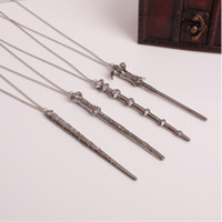 Wholesale United Toys - New Europe and the United States Harry Potter Six Bone Magic Wand Hermione Sirius Star V Volcker Necklace Unisex Simple Explosion