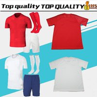 Wholesale Rooney Football - adult kit 2018 england soccer Jersey World Cup ROONEY home KANE STURRIDGE STERLING dele 18 19 england away red men football shirts