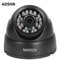 câmera de rede interna megapixel venda por atacado-AZISHN IP Câmera 720 P / 960 P / 1080 P 24IR LEDS Securiy HD Rede CCTV Câmera Megapixel IP ONVIF Indoor H.264 Vigilância