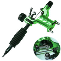 suministro para tatuaje al por mayor-Máquina rotatoria del tatuaje de la libélula Shader Liner Assorted Tatoo Motor Kits Supply 7 colores Tattoo Guns envío gratis