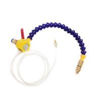cnc su soğutma toptan satış-Su Yağ Soğutucu Boru Ahşap Yönlendirici Hortum Soğutma Tüpü CNC Oyma Makinesi Araçları