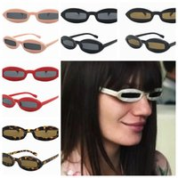 Wholesale funny sunglasses online - women rectangle Sunglasses spoof funny classics Cool Small Frame fashion Retro Eyewear Sunglasses color LJJK984