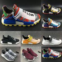 68e6e1ebd 2018 Pharrell Williams x Originals 2066 Hu Trial Solar Pack 3MPOW3R M1L3L3  Human Race Men Women Running Shoes Authentic Sneakers
