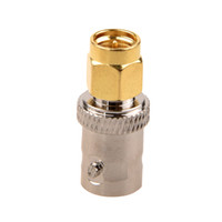 Wholesale sma female to bnc male resale online - Gold Tone SMA Male to Silver Tone BNC Female Connector Adapter