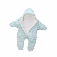 ingrosso baby swaddled-Star Baby Sacco a pelo Inverno Baby Sacco a pelo Caldo Coperta Swaddle Sacchi a pelo