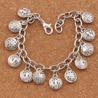 "Wholesale stainless medal - Saint St Benedict Medal Charm Bracelets Stainless Steel Chains Bracelet 7"" 7.5"" 8"" 8.5""BC01"