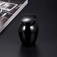 Wholesale pet cremation jewelry - Cremation Urn Pet Urn Dog Cat Hold Much Ashes Cremation Jewelry Charm Polish Ash Holder Openable Accessories Newest