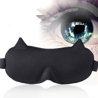 Wholesale quality eye patches resale online - High Quality D Ultra soft breathable Sleep Masks Eyeshade Sleeping Eye Mask Portable Travel Sleep Rest Aid Eye Mask Cover Eye Patch