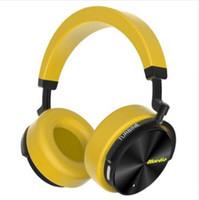 mikrofon t großhandel-Bluedio T / 5 bluetooth Kopfhörer Aktiver Noise Cancelling Kopfhörer mit Mikrofon für Telefone und Musik Kopfhörer