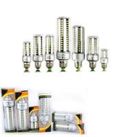 Wholesale bulb e27 corn 12w online - 25W E26 Led Bulbs Light SMD Corn Lamps W W W W W W E27 Led Lights AC V