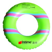 Wholesale Kids Swim Float Tube - Kids Inflatable Tube Swim Ring - Swimming Pool Floats Water Rings by Floaties Green Blue Pink Yellow 60cm-80cm