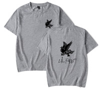 Wholesale green t shirt designs for sale - Group buy Lil Peep Printed Male Tshirt Swallow Bird Design Women Fashion Short Sleeved Tees Tops Lovers Summer Hip Hop Rap T shirt Plus Size