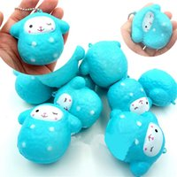 Wholesale Money Plays - Squishy Sheep Slow Rebound Phone Straps Charm Pendant Kawaii Squishies Bread Decompression Toys Children Play House Plaything Gift 3 5ks C