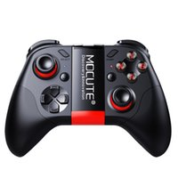 mini joystick pc al por mayor-MOCUTE 054 Joystick inalámbrico Gamepad Bluetooth Game Controller para Android / iSO Teléfonos Mini Gamepad Tablet PC VR TV caja