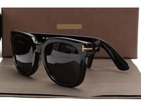 diseñador de gafas de lujo para hombres al por mayor-Gafas de sol de lujo de alta calidad Nueva moda 211 Tom Gafas de sol Fore hombre mujer Erika Eyewear ford Diseñador de la marca Gafas de sol con caja original