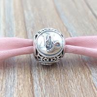 steinbock charme großhandel-Steinbock Sternzeichen Charm 925 Sterling Silber Perlen passt europäischen Pandora Style Schmuck Armbänder Halskette 791945 Die Zeichen des Tierkreises
