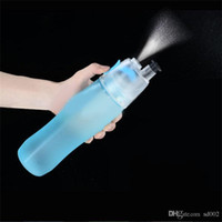 Wholesale single nozzles resale online - Water Bottle With Spray Nozzle Leak Proof Cups For Outdoor Sports Gym Portable Drinking Container Single Layer Multifunction hg ZZ