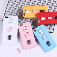 Wholesale cell phone cases bottle online – custom For Iphone Phone Cases Stereo Burger Cola Bottle Candy Milk Bottles TPU Soft Cell Phone Case For Iphone X Plus
