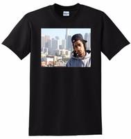 impresión de fotos grandes al por mayor-NIPSEY HUSSLE T SHIRT rapper photo poster tee PEQUEÑO MEDIO GRANDE o XL Camiseta cómoda Casual Manga corta Estampado 100% Algodón