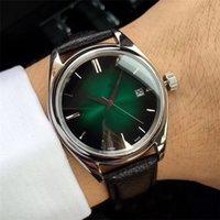 japão relógios mecânicos venda por atacado-41mm Relógios de Aço Inoxidável dos homens Relógios De Pulso De Couro Bandas À Prova D 'Água Japão Movimento Mecânico Automático Famosa Marca Homens Relógios O79