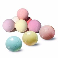 Wholesale bath drops - 40G Small Size Home Hotel Bathroom Bath Ball Bomb Aromatherapy Type Body Cleaner Handmade Bath Bombs Gift Drop Shipping