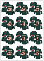 Wholesale green jersey koivu for sale - Group buy Minnesota Wild Hockey Jerseys Mikko Koivu Jersey Jason Zucker Nino Niederreiter Devan Dubnyk Green White