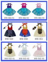 40f2dde6c782 New Baby Girls Tutu Sequins Mermaid Rompers Halter Princess Multi Color  Dots Princes Rompers 2018 infant romper Jumpsuits 11 styles 524
