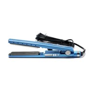Wholesale electric hair straighteners resale online - NEW Hair Straighteners PRO Na No TITANIUM plate Flat Iron Ionic Hair Straightener high quality