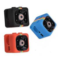 infrarot nachtsicht hd dvr großhandel-SQ11 Mini-Kamera-HD 1080P Nachtsicht-Camcorder Auto-DVR Infrarot-Videorecorder Sport-Digitalkamera-Unterstützungs-TF-Karte DV-Kamera