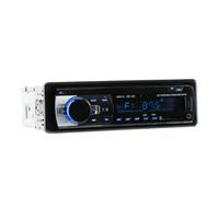 ingrosso radio di dvd del bluetooth-JSD-520 1 DIN 12V autoradio DVD / CD / lettore Bluetooth Radio MP3 / USB / SD / TF / AUX / FM / AM / RDS supporto con telecomando