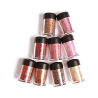 Wholesale free eyeshadow pigments resale online - 2019 stock Hot pigment poudre eclat g eyeshadow colors high quality Free DHL shipping