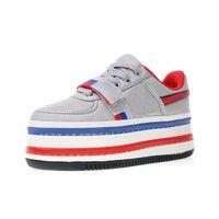 ingrosso scarpe blu piattaforma donne-2018 Con Box Quality AA + Donna WMNS Vandal 2K Platform Shoes Sneakers per le donne di marca Double Stack Particle Beige Gym Blue Femmina Famosa