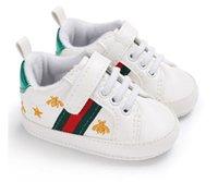 sapatos de couro nubuck venda por atacado-Bebê Primeiros Caminhantes Antiderrapantes Primeiros Caminhantes Para Bebé Menino Gênio Nubuck Sapatos de Couro Da Criança Do Bebê Infantil 0-1 anos