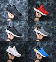 Wholesale foam shoes for men for sale - 2018 Hot Sale Epic ODYSSEY React Fly Knit Foam Particles Comfortable Casual shoes for High quality Men Women Outdoors Sneakers Size