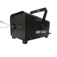 équipement pour fumer achat en gros de-400w mini effet de lumière de scène de machine de brouillard de fumée générateur de fumée générateur de brouillard de scène de gogger allumant l'équipement de DJ