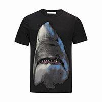 branco t shirts china venda por atacado-2018 Hot T-shirt dos homens de Verão de boa Qualidade de Manga Curta T-shirt do Crânio de Medusa Preto e Branco dos homens T-shirt China tamanho