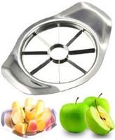 herramientas de corte de verduras al por mayor-Conveniente Apple Slicer Cutting Corer Apple Slice Knife Cocina Cocina Herramientas vegetales Chopper Utensilios de cocina y accesorios