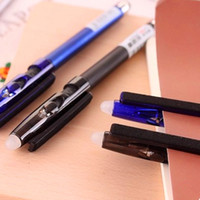 касаться кореи оптовых-Многофункциональный стираемую гелевая ручка трения ручка 0.5 мм творческий Оптовая Кристалл сенсорный экран синий / черные чернила Южная Корея канцелярские