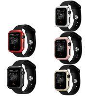 чехлы для пк оптовых-Для Apple Watch Series 4 iwatch 40mm / 44mm Slim PC Защитная пленка для полного экрана Защитная крышка