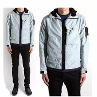 Wholesale st jacket - 17AS ST MICRO Jackets Good Quality Outdoors Outerwear IS REPS Men Women Windproof Casual Jackets HFYTHW003