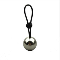 Wholesale penis extender rings resale online - A Silicone Penis Rings With A Metal Ball Penis Enlargement Weight Hanger Stretcher Extender Stretche