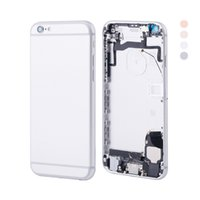 Wholesale full house complete - Best Quality Brand New For iPhone 6S 6GS Full Battery Door Complete Back Cover Housing Module 4 Colors