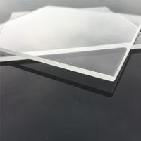 lençóis usados venda por atacado-Alta Qualidade Industrial Quartzo Placa 105mm Quadrado De Quartzo Claro Placas 3mm De Espessura De Vidro De Quartzo Piezoid Folha para Muitos Usos